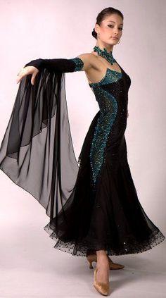 waltz dress: