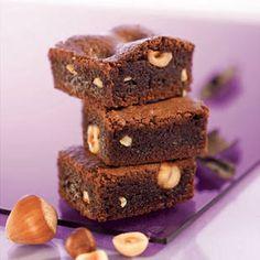 Brownie aux éclats de noisettes l Recette dessert Tipiak
