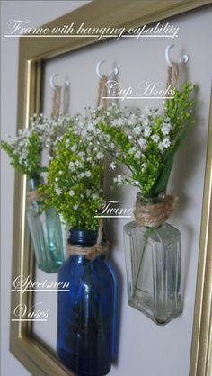 Framed Vase Wall Art Explanation