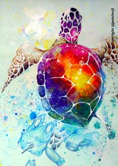Water Pollution Turtle by Janie Lee pininterest // stagram Water Pollution Turtle by Janie Lee pininterest // stagram - Turtle watercolour with gouache art print Sian Storey turtle swimming Turtle Print Turtle Art Tropical Art Home decor Art Turtle Tiger Art Painting, Animal Art, Animal Tattoos, Turtle Watercolor, Watercolor Animals, Art Drawings, Water Art, Watercolor Sea, Sea Art