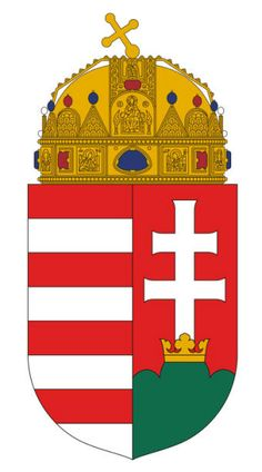 Hungarian Coat of Arms - my great-grandparents are from Hungary Hungary History, Family Crest, Crests, Budapest Hungary, My Heritage, Coat Of Arms, Art Decor, Medieval, Badge