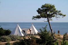 Le Domaine Les Moulins de la chaîne Original Camping d'Alain Dominique PERRIN présente son Kids Club. Publié le 05/08/13. La Guérinière. Vendee.