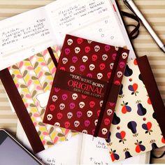 Cadernos para registrar muitos assuntos Joy Paper Papelaria no Shopping Iguatemi SP www.joypaper.com.br