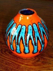 German Lava Vase