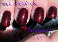 Nubar Burgundy Velvet (Shimmery Deep Red)