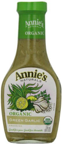 Annies Naturals Green Garlic Dressing Vinegar Free 8 oz *** You can get more details by clicking on the image.