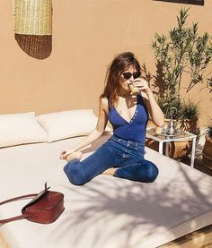 What Does French Girl Style Look Like on Vacation? Insanely Chic, Of Course