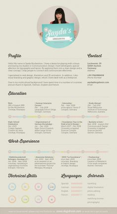 190 best Resume Design & Layouts images on Pinterest | Resume Design ...