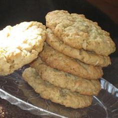 My grandma made these... we used to sneak them from the deep freezer in the basement. Ranger Cookies I Allrecipes.com