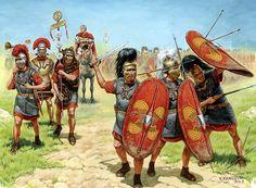 paisajes de antiguas guerras bárbaras cuadros al óleo las guerras