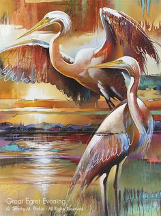 Modern Bird Art Naples Fl