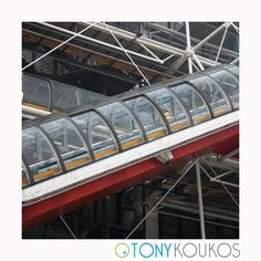 angles, architecture, exterior, functional, landmark, Paris, pipes, pompidou, postmodern, steel, tube, tunnel