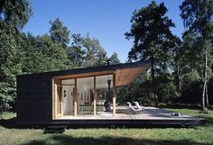 Summer House by Christensen & co. Arkitekter - Contemporary World Architecture Residential Architecture, Modern Architecture, Casas Containers, Cabins In The Woods, Home Fashion, Modern House Design, Contemporary Design, Cabana, Cottages