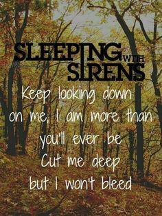 Kick Me by Sleeping With Sirens