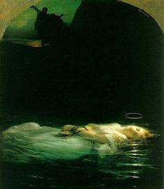 Mladá křesťanská mučednice - Paul Delaroche | ARTMUSEUM.CZ