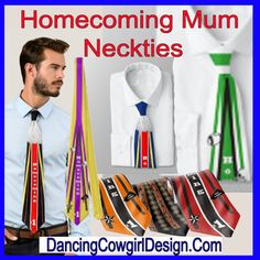 Homecoming Mum Necktie