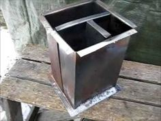 Rocket Stove Ideas 21 - Box Rocket - YouTube