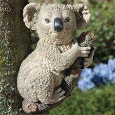 Design Toscano Kouta The Climbing Koala Statue Quantity: Set of 2