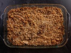 Get Blueberry-Oatmeal Crisp Recipe from Food Network Ree Drummond, Köstliche Desserts, Delicious Desserts, Dessert Recipes, Apple Desserts, Chef Recipes, Food Network Recipes, Apple Crisp Recipe Food Network, Fish Recipes