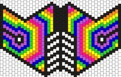 Rainbow Mask 2 Bead Pattern