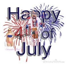 4th of July!! by parisbae on Polyvore featuring Dasein
