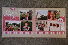 Canada Day layout
