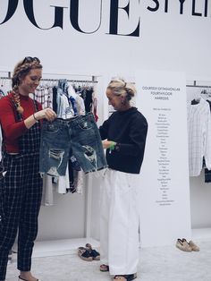 Vogue Festival 2016 Lucinda Chambers styling workshop