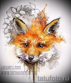 Картинки по запросу фон для лисы акварелью