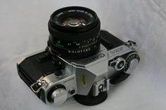 "Фото: ""Canon AE-1"" 35мм SRL №5372556, объектив Canon FD 50mm 1:1.8"