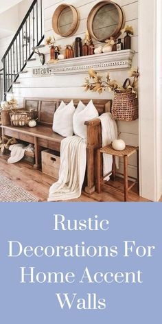 Rustic Decorations For Home Ideas Kitchens Rustic Decorations For Home Diy Projects Home Bedroom, Home Living Room, Bedrooms, Country Decor, Rustic Decor, Corrugated Metal, Joanna Gaines, Rustic Kitchen, Home Accents
