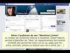 (Paramètres uniquement) Facebook gérer l'audience des mentions J'aime (centres d'intérêt et activités) - YouTube Centre, Facebook, Gera, Je T'aime