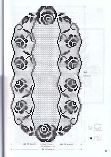 doily filet pattern