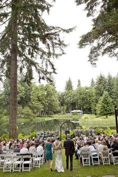 Authentic outdoor #Oregon lake venue  - Bridal Veil Lakes