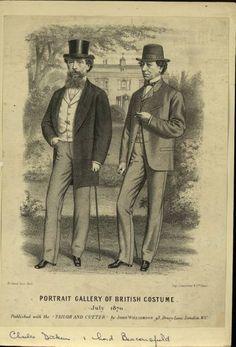 British Men in 1870 (Charles Dickens?)