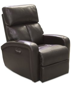 Criss Leather Power Recliner with Power Headrest and USB Power Outlet  sc 1 st  Pinterest & Jensen Leather Power Recliner with USB Power Outlet | Power ... islam-shia.org