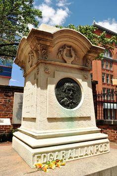 Edgar Allan Poe, Westminster Hall, Baltimore, Maryland