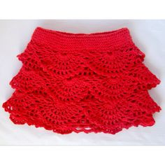 Crochet girl's skirt