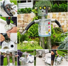 How To Make A Robot Scarecrow Pictures, Photos, and Images for Facebook, Tumblr, Pinterest, and Twitter
