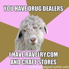 Fuck Yeah Crochet Goat http://fyeahcrochetgoat.tumblr.com/