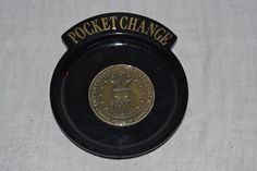 Pocket Change plate Inlaid Medallion - Dept. of the Air Force