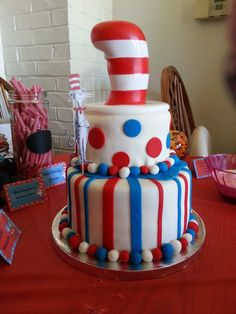 Top smash cake, bottom separate cake, add green and yellow stripes/dots. Big and on cakes Birthday Fun, Birthday Ideas, Birthday Cake, Cake Smash, Cake Pops, Party World, Bakery Cakes, Yellow Stripes, Cake Ideas