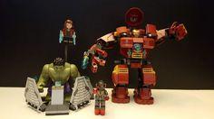 LEGO MARVEL SUPER HEROES - 76031 - HULK BUSTER SMASH COMPLETE -MOVIE #LEGO #marvel #legomarvel #hulkbuster #ironman #scarletwitch #ultron #hulk #hulksmash #legoavengers #avengers