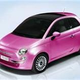 The pink sparkle car that she wants