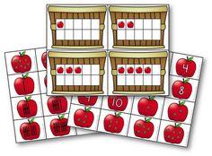 Free Fall Apple math station