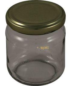 Frasco Vidro 250 gr Garden Pots, Mason Jars, Storage, Honey, Glass, Box, Jars, Mason Jar
