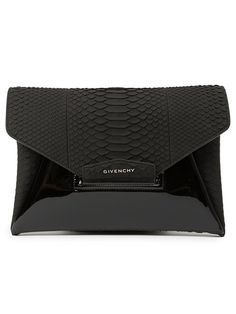 Shop Givenchy medium 'Antigona' envelope clutch in Marissa Collections from the world's best independent boutiques at farfetch.com. Shop 300 boutiques at one address.