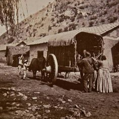 Vintage Photography, Old Photos, Past, Mexico, Retro, Outdoor, Santiago, Social Stories, War Of The Pacific