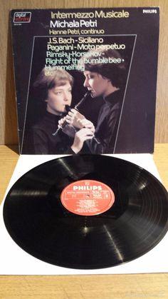 MICHALA PETRI / HANNE PETRI - INTERMEZZO MUSICALE. LP / PHILIPS-1983. ***/***