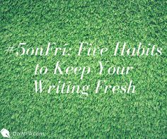 Mere discipline won't keep readers engaged. Try these tricks to keep your writing fresh from Audrey Kalman