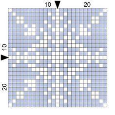 Ravelry: 12 month long Crochet-a-thon January pattern by Tracy Laus--snowflake square Graph Crochet, C2c Crochet, Filet Crochet, Cross Stitch Embroidery, Embroidery Patterns, Cross Stitch Patterns, Perler Patterns, Quilt Patterns, Tapestry Crochet Patterns